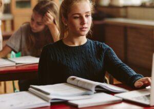swiss high school student